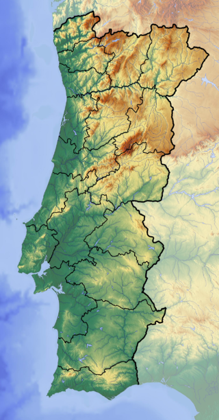 Portugal (Von Dr Brains - Eigenes Werk (backgroung : http://www.maps-for-free.com), GFDL 1.2, https://commons.wikimedia.org/w/index.php?curid=19948094)